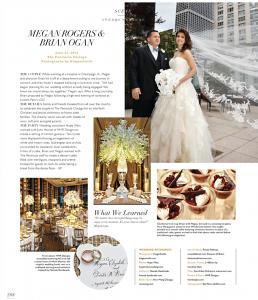 Megan and Brian - Modern Luxury Brides Chicago July 2015