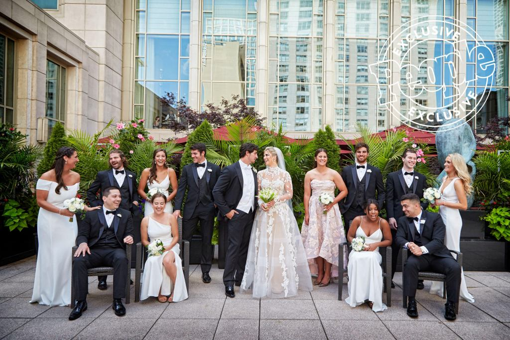 People – Green Bay Packers' Danny Vitale Marries Caley Chelios in 'Magical' Chicago Wedding