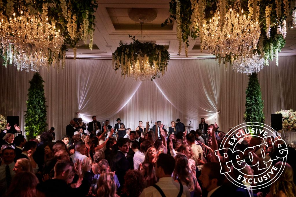 People Feature – Green Bay Packer's Danny Vitale Marries Caley Chelios in 'Magical' Chicago Wedding