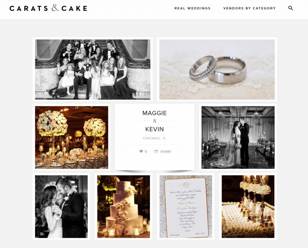 Carats & Cake – Maggie & Kevin